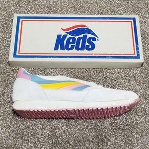 1980s Vintage Keds 10 New Wave WK2219M Sneaker